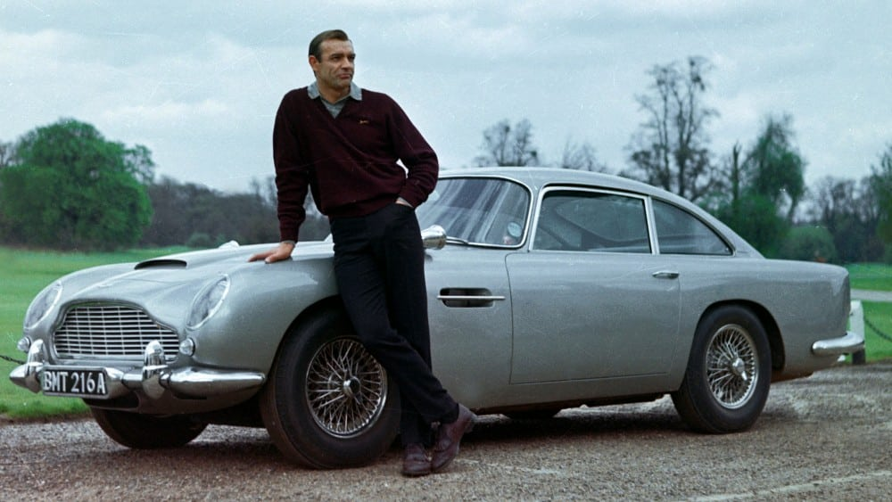 Ham's NAPA Auto Parts - Top 5 Movie Cars - James Bond Aston Martin