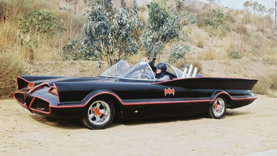 Ham's NAPA Auto Parts - Top 5 Movie Cars - Batmobile
