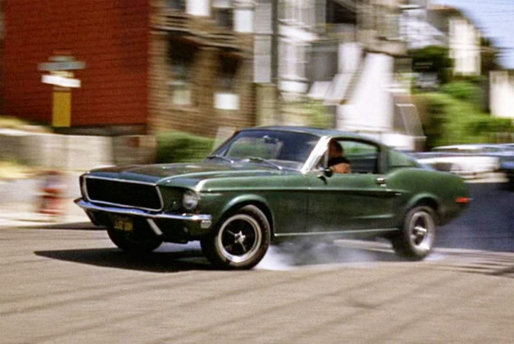 Ham's NAPA Auto Parts - Top 5 Movie Cars - Steve McQueen in Bullitt