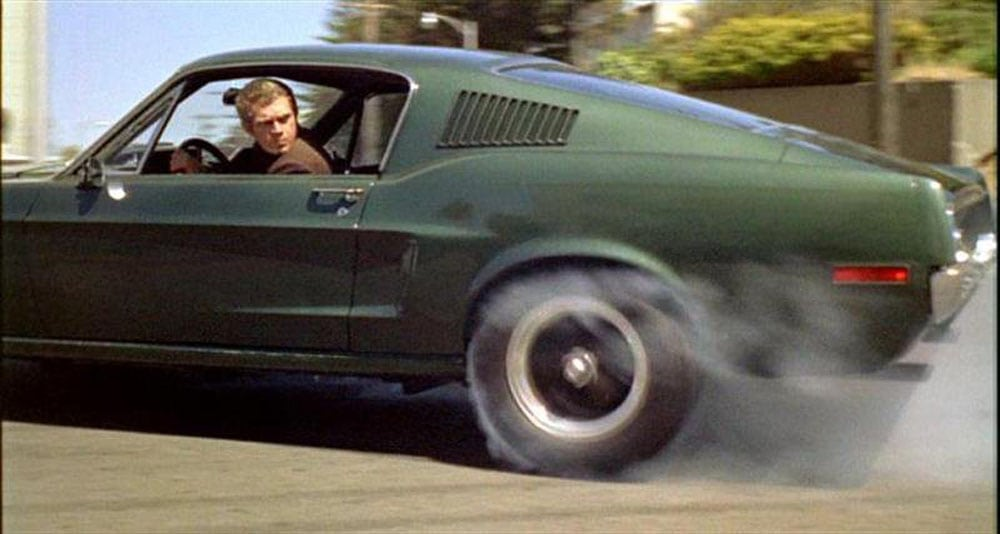 Favorite Movie Cars - Bullitt Steve McQueen