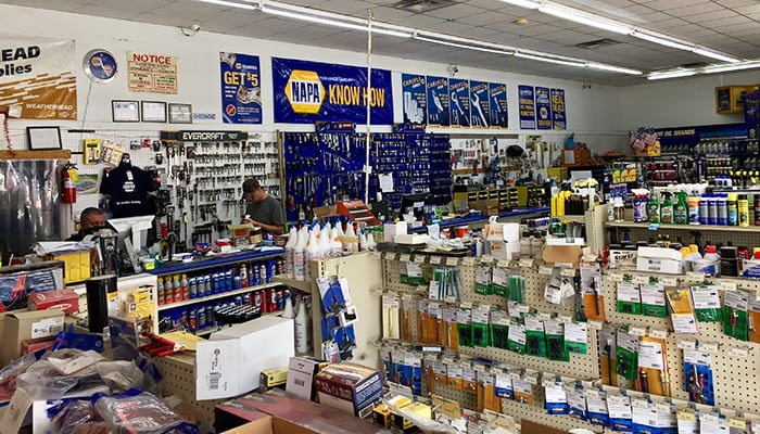Ham's NAPA Auto Parts - Jackson, GA Parts Counter