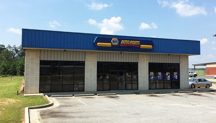 Ham's NAPA Auto Parts - Reynolds, GA Outside
